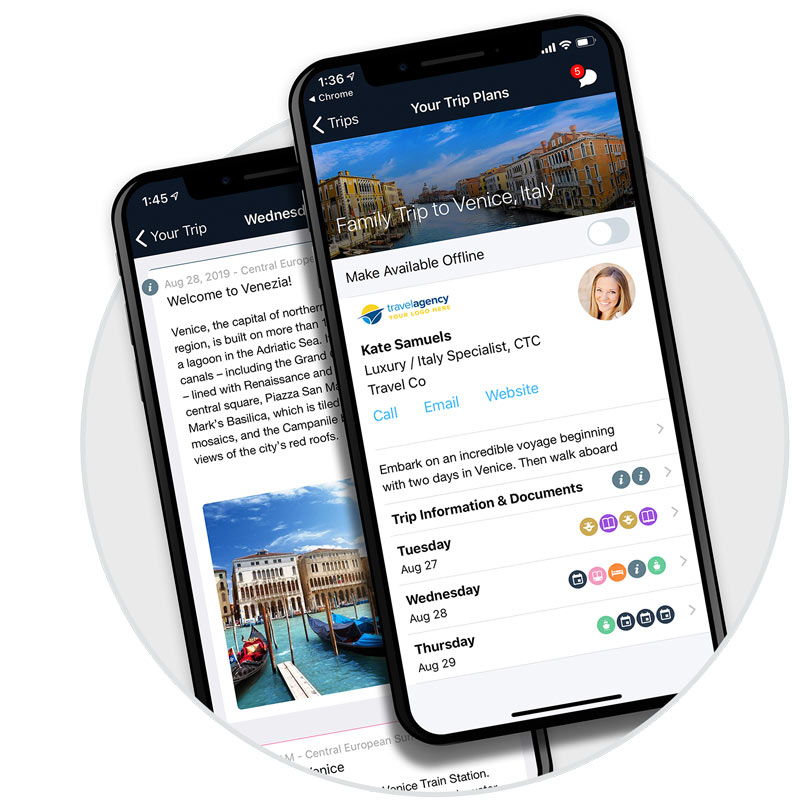Itinerary Management Software for Travel Advisors and Travel Companies