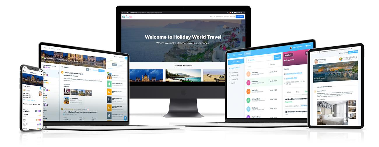 Travefy's Expanded Platform For Travel Advisors