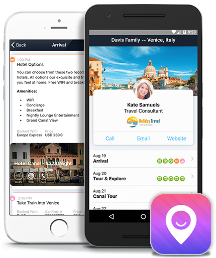 Itinerary Mobile App for Travel Agents | Travefy